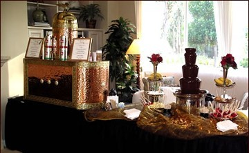 Coffee and Chocolate Display